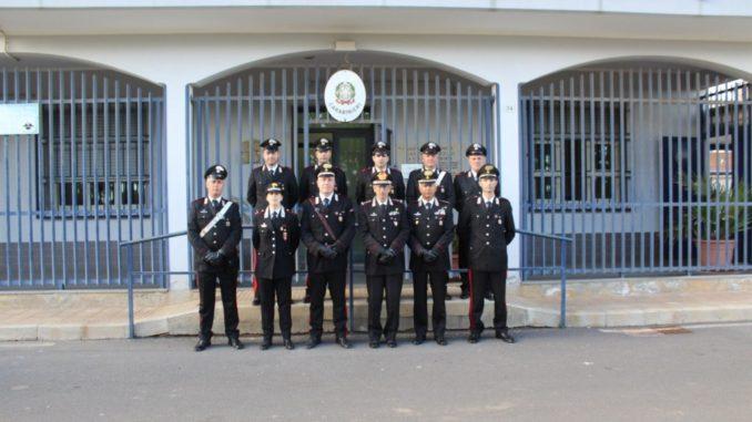 Silvio Ghiselli, Generale di Corpo D'Armata, ha visitato la caserma Carabinieiri di Cassibile
