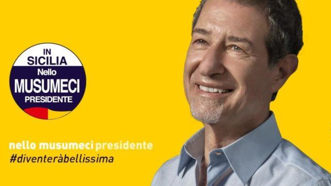 Regionali Sicilia, completato spoglio, Musumeci presidente con il 39,8 per cento