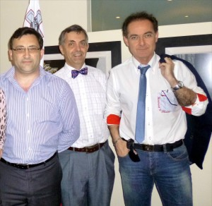 Anselmo Madeddu, Joe Psaila e Chris Scerri