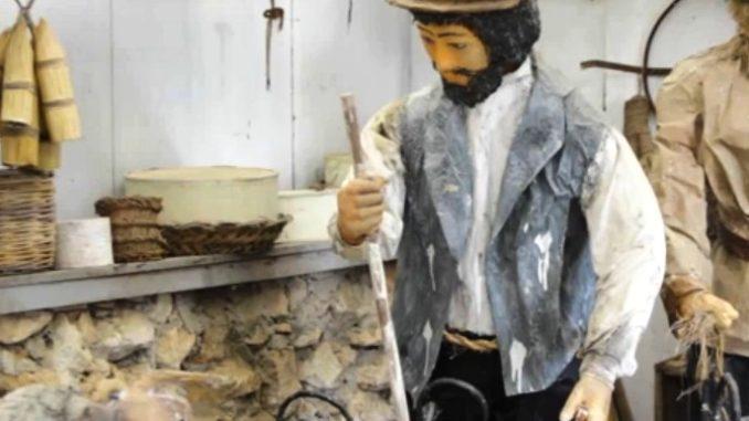 Il presepe in cartapesta a Cassibile rivive