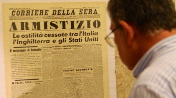 Armistizio Cassibile, 3 settembre 1943, una data che cambiò il corso della storia