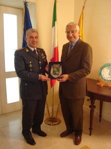 Il Commissario Giacchetti ed il Comandante Spampinato