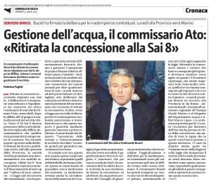 L'articolo in questione pubblicato sul Giornale di Sicilia