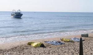 Migranti morti, annegati a Catania - Foto Ansa