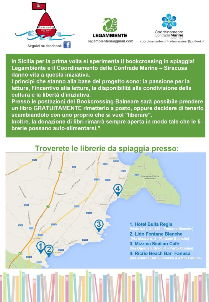 Informativa Bookcrossing Balneare