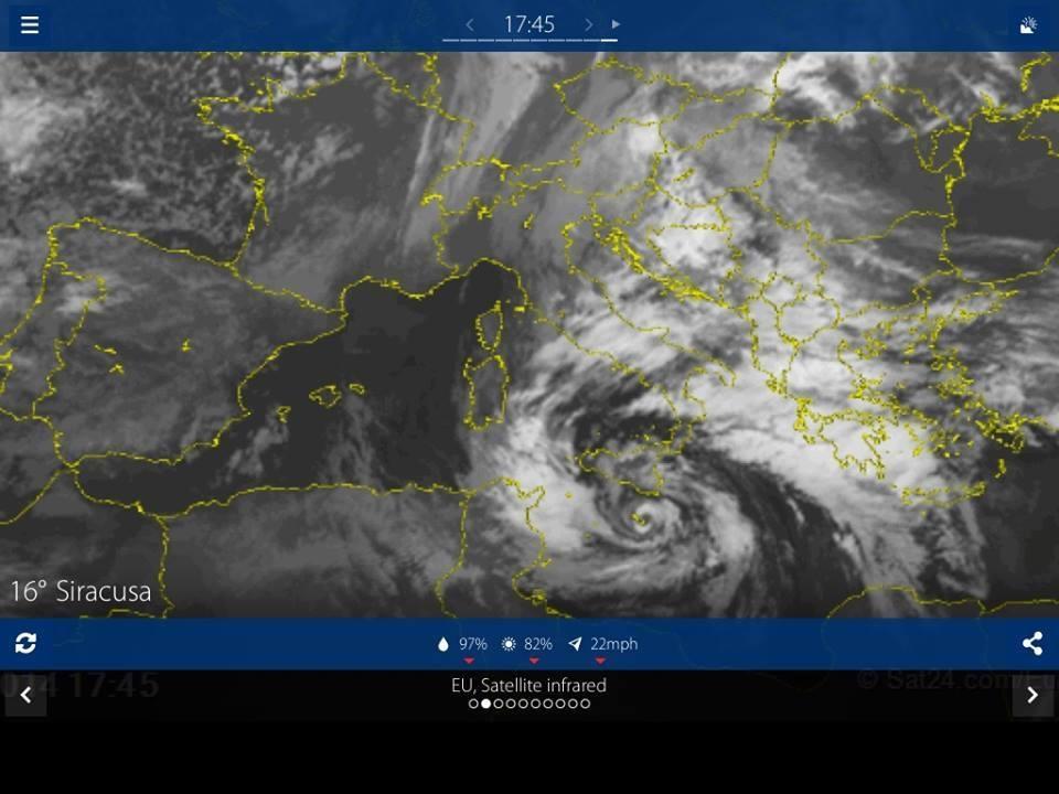 vista da satellite