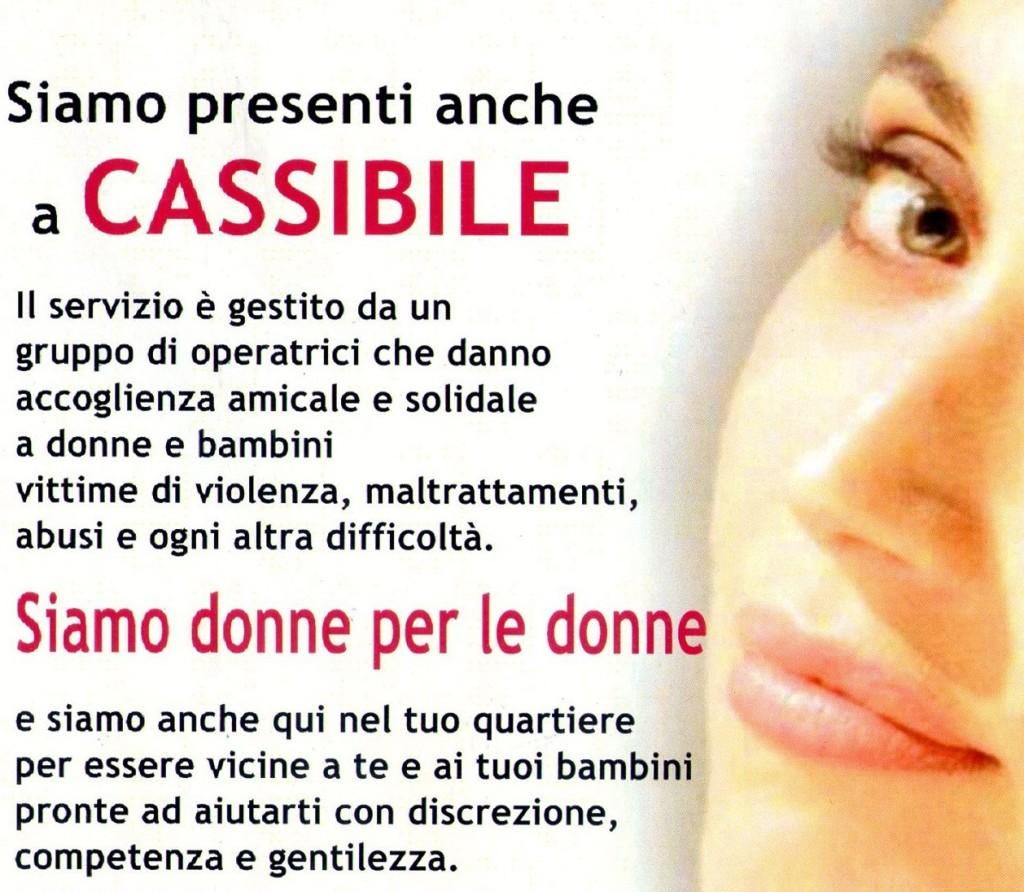 Centro Antiviolenza Donne, a Cassibile c'è!