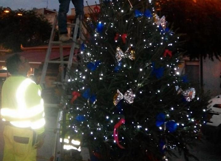 Cassibile ha acceso il suo Albero di Natale