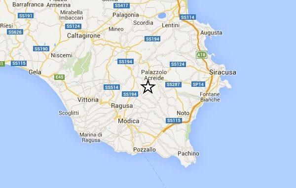 Terremoto, trema la terra, scossa avvertita anche a Cassibile