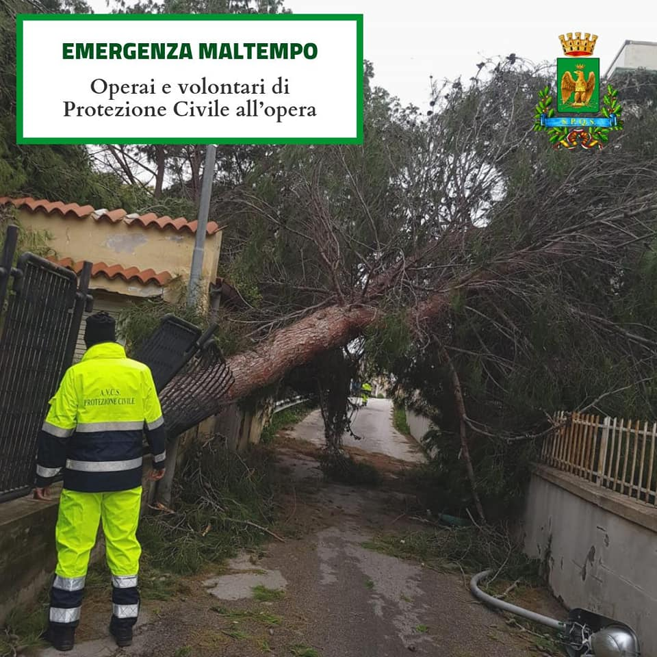 Maltempo, scuole chiuse in Sicilia, nelle province di Siracusa e Ragusa