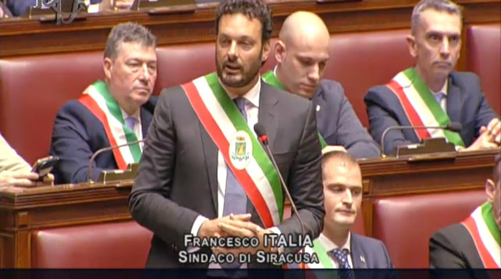Il sindaco Italia interviene alla Camera sul tema dei Beni comuni
