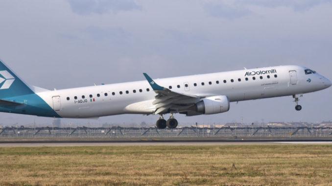 Air Dolomiti apre il collegamento con Firenze da Palermo e Catania