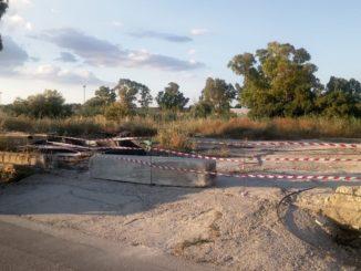 Sgomberato l'ex campo nomadi di Pantanelli, rimossa una baracca