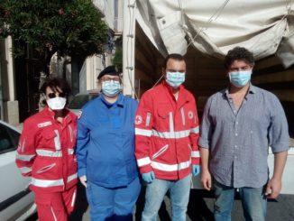 Croce rossa di Siracusa dona pasta alla Consulta civica siracusana