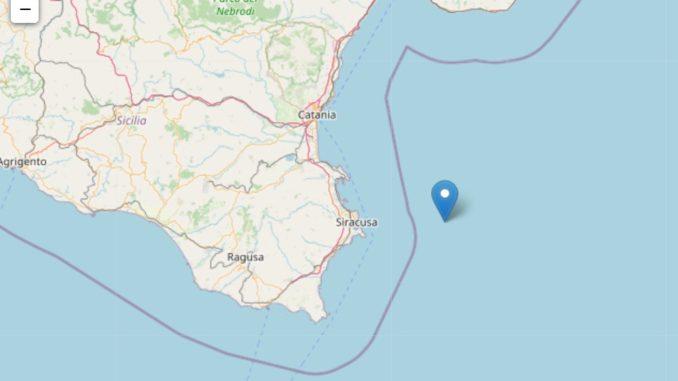 Terremoto nel Siracusano, magnitudo 3.7, sentito anche a Cassibile